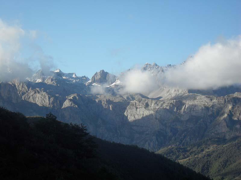 Picos de Europa primeras nieves
