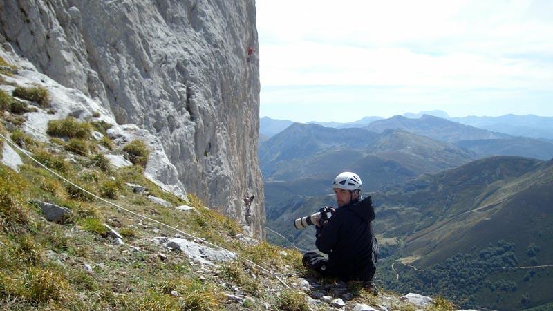 Antonio Lastra primer premio foto escalada