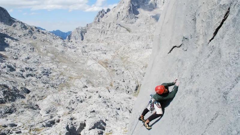 Maraton fotografia escalada picos de europa