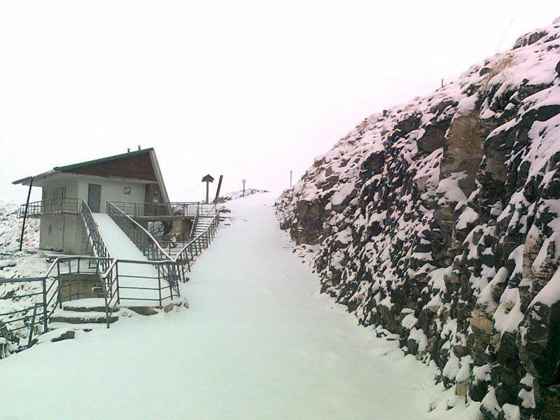 Nieve en Picos de Europa