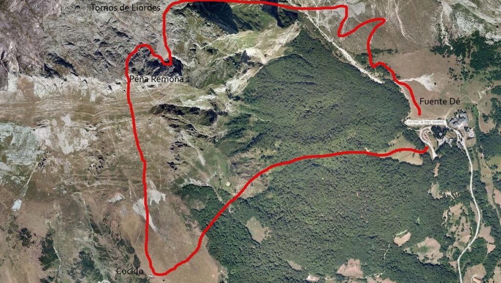 Itinerario ruta cocido lebaniego 2012