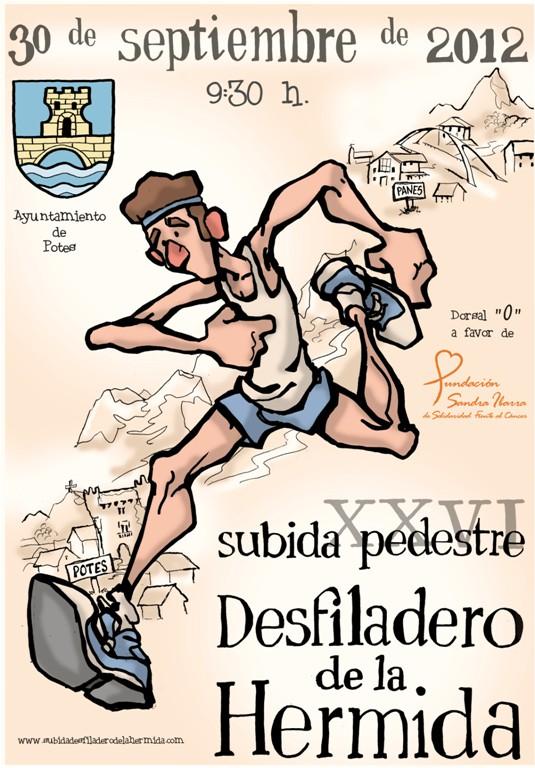 Subida pedestre Desfiladero Hermida 2012
