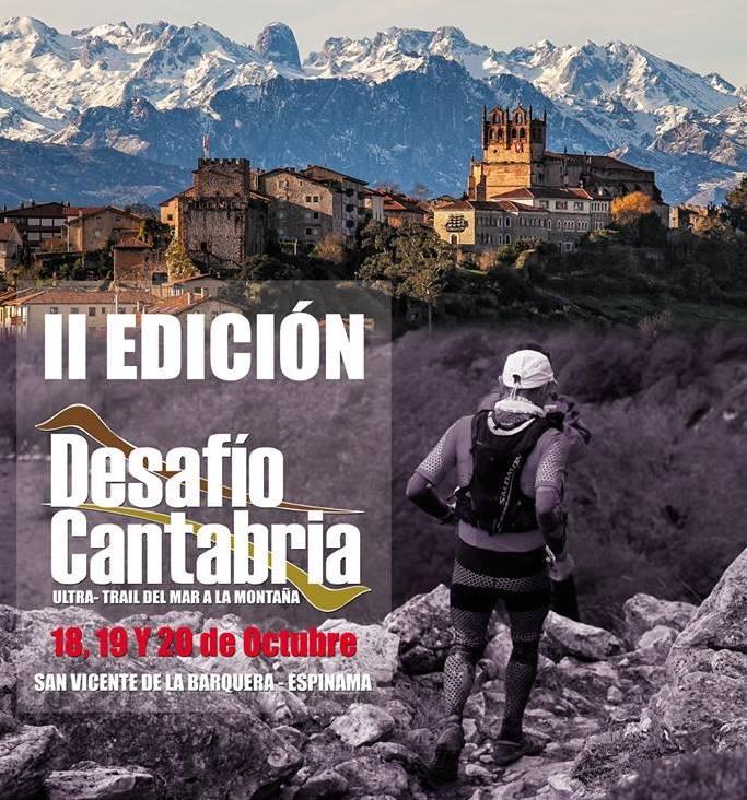 Cartel II Desafio Cantabria 2013