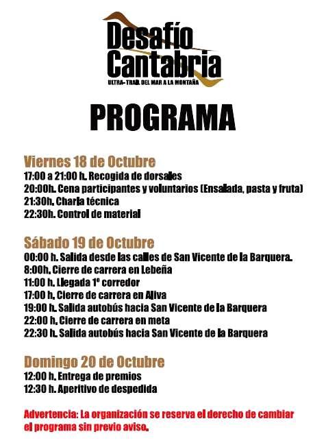 desafio-cantabria-2013-programa