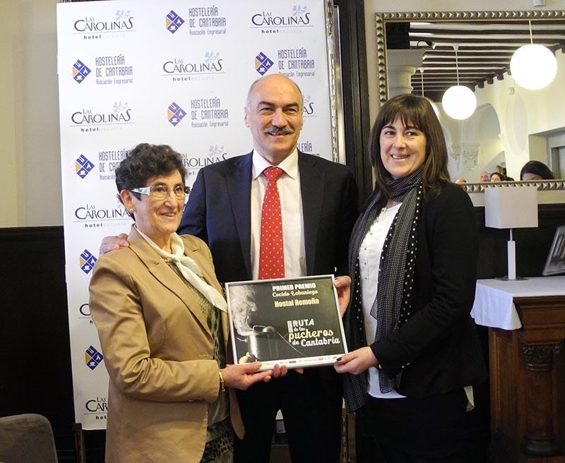 Entrega premio cocido lebaniego 2014