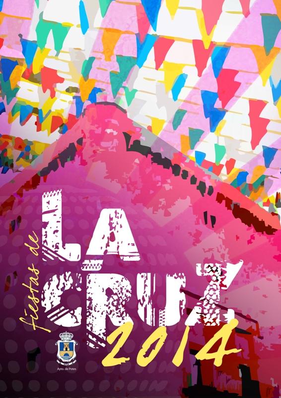 Cartel Fiestas de la Cruz 2014