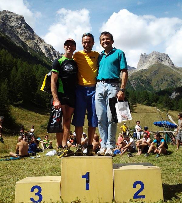 Pablo Criado ganador Thabor Trail 2014