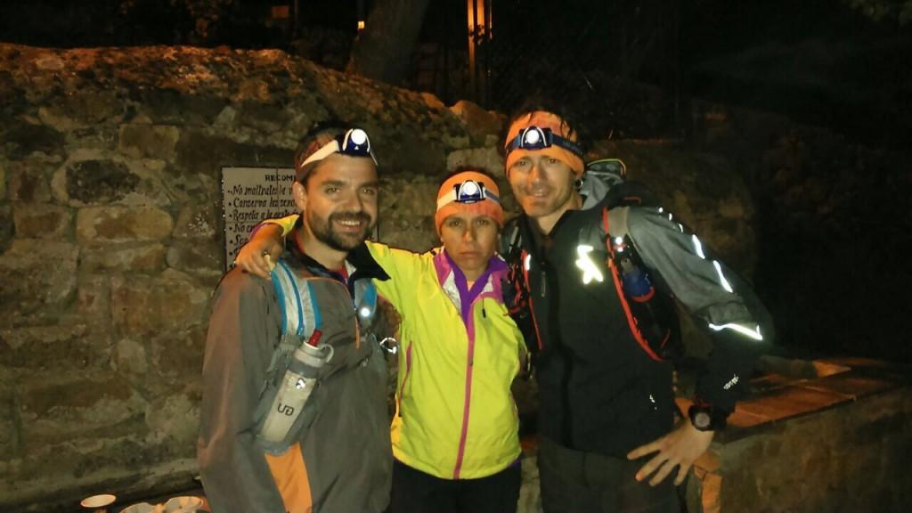 Los dos aventureros tras pasar Cahecho
