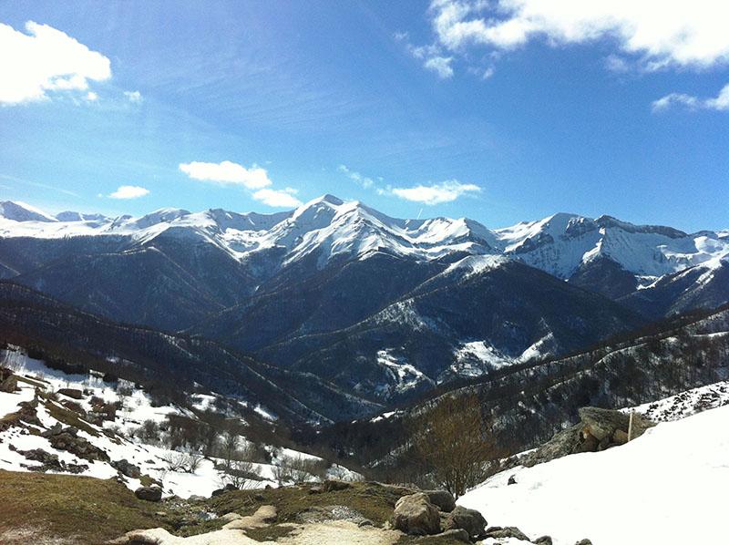 Picos de Europa nieve 2015
