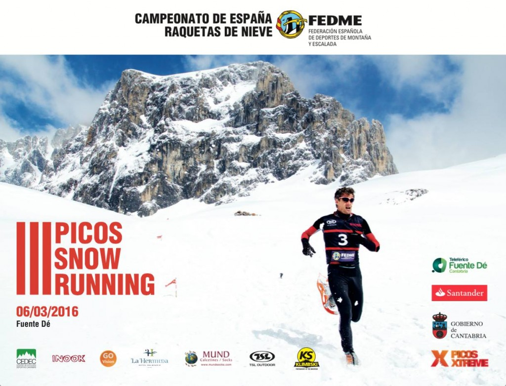 Cartel III Picos Snow Running 2016