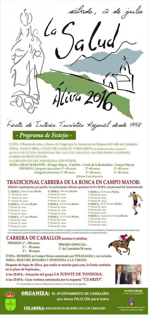 Cartel La Salud 2016